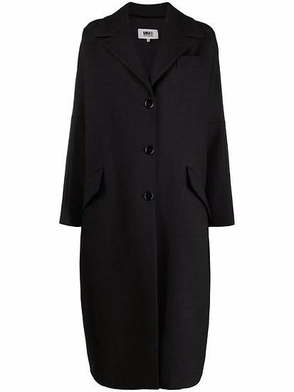 MM6 Maison Margiela - buttoned midi coat
