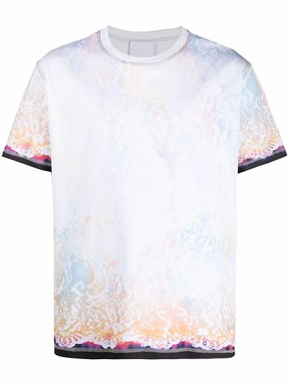 Koché - t-shirt motivo tie-dye
