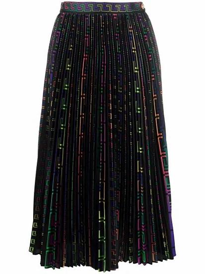 Versace - pleated skirt