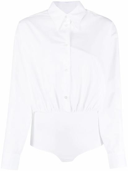 MM6 Maison Margiela - body camisa