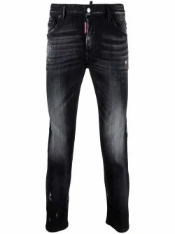 Dsquared2 - distressed effect jeans