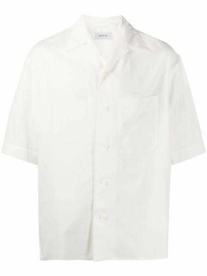 Lemaire - camisa manga corta