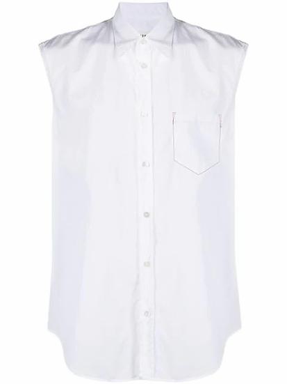 Maison Margiela - camisa sin mangas