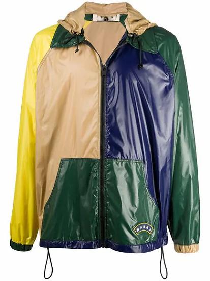 Marni - chaqueta diseño colour block