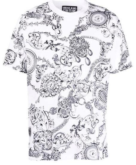 Versace Jeans Couture - camiseta con motivo Barocco