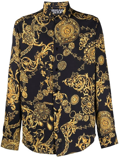 Versace Jeans Couture - Regalia Baroque printed shirt