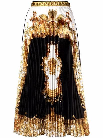 Versace - falda plisada
