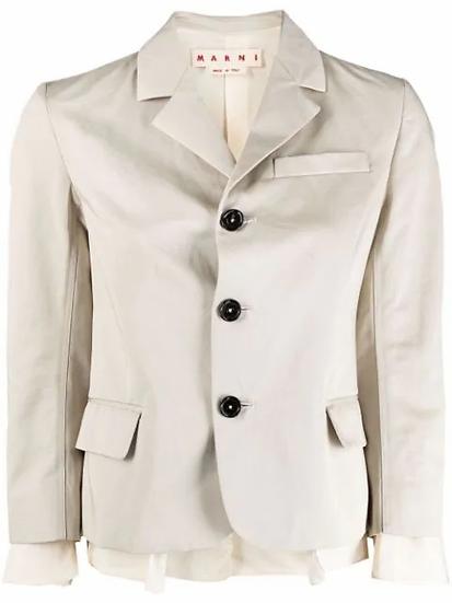 Marni - blazer botones