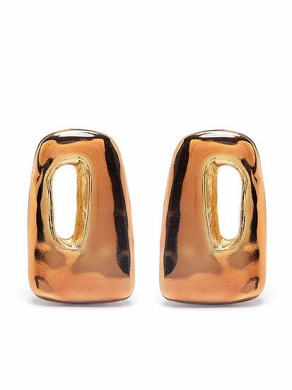 Marni - rectangular earrings