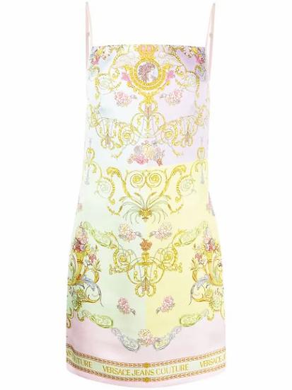 Versace Jeans  Couture -  vestido estampado Versailles