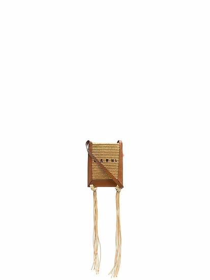 Marni - raffia crossbody bag