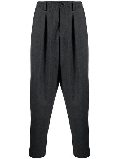 Marni - pantalón de vestir cintura elástica