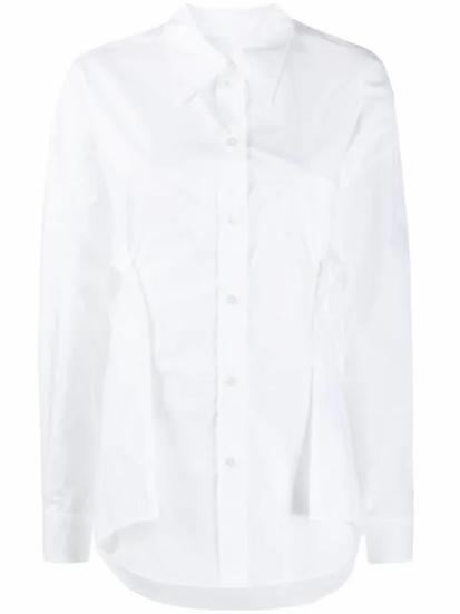 MM6 Maison Margiela - camisa con panel drapeado