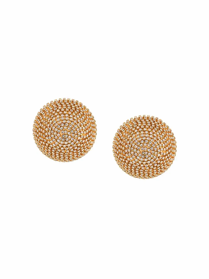 Marni - spherical clip-on earrings