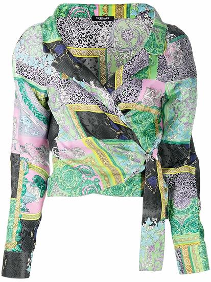 Versace - camisa estampada