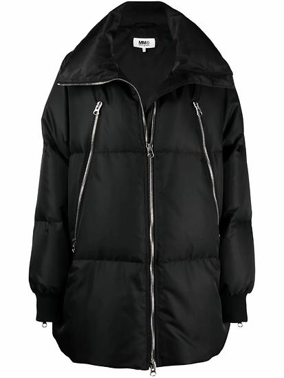 MM6 Maison Margiela - quilted midi jacket