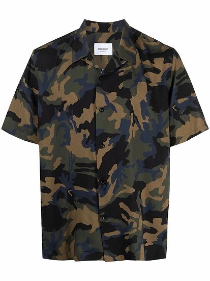DONDUP - camisa estampado militar