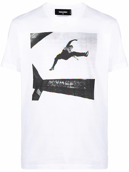 Dsquared2 - t-shirt estampado fotográfico