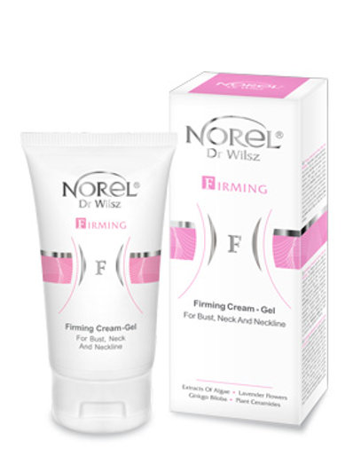 Firming cream-gel for bust and neck