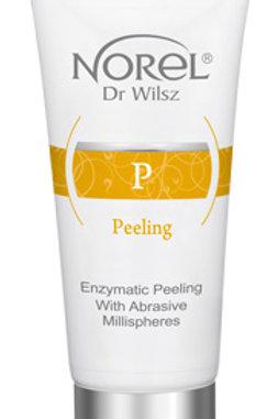 Enzymatic Peeling With Abrasive Millispheres
