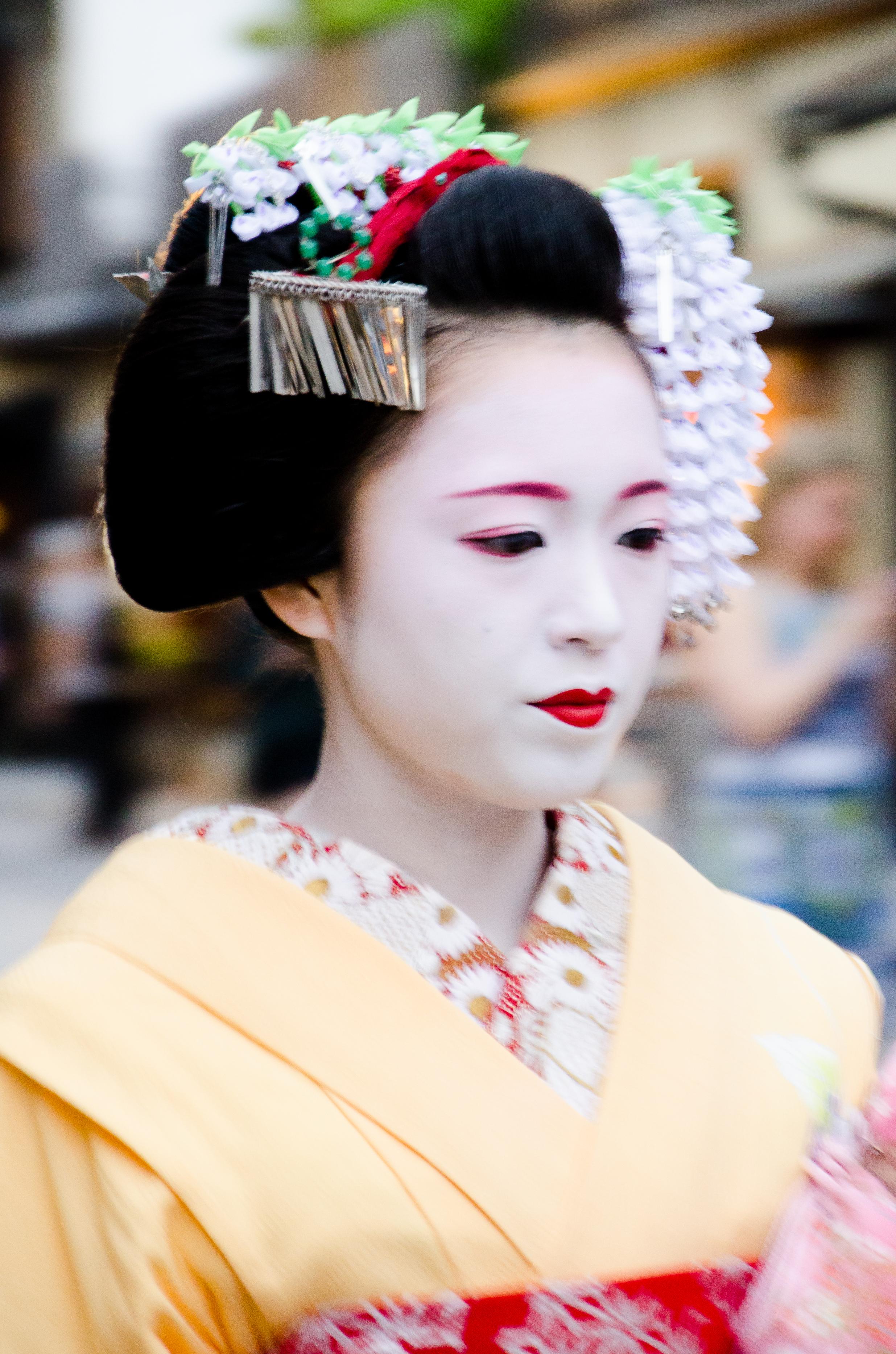 Katsusen, Geisha Kyoto Japan