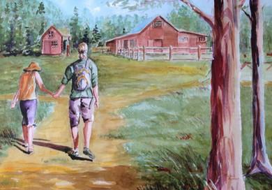 A walk together