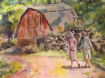 Stroll along the farm