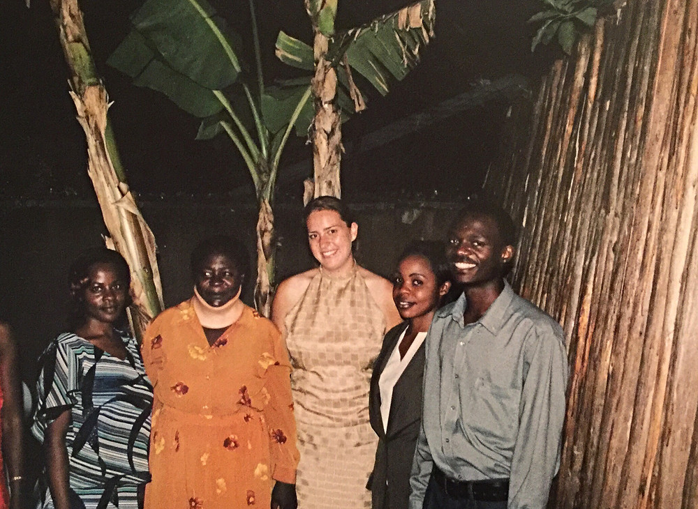 Me and friends nearing the end of my semester in Uganda.  (All rights reserved.)