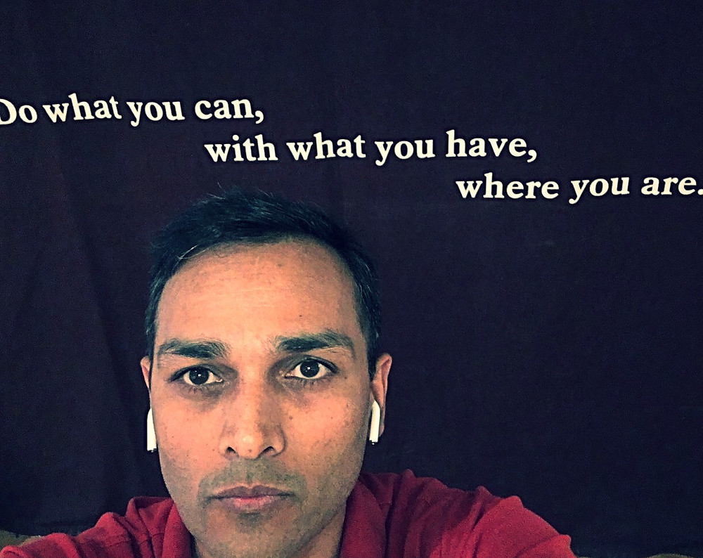 Arpan Lidder, Start Where You Are