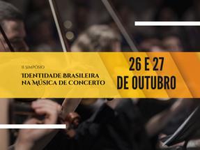 II Simpósio Identidade Brasileira na Música de Concerto