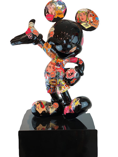 "MICKEY ""I LOVE PoP-aRT"" -Edition- nWL-weareArt / limited"