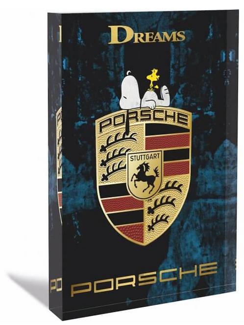 PORSCHE Glas-Acryl-Block - limited  - by Devin Miles