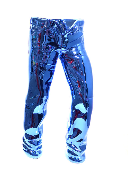 FLASHY JEANS STANDS FREE in blue - by nWL-weareART