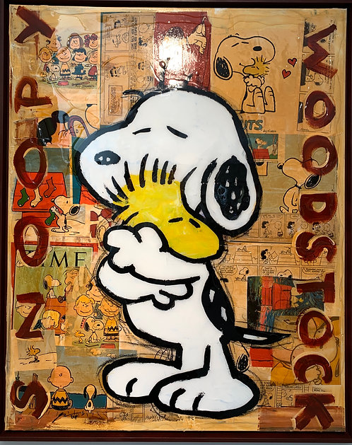 SNOOPY and WOODSTOCK - G. Herrmann