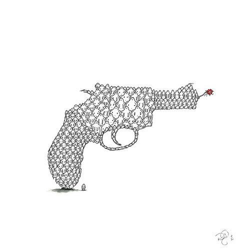 GUN FLOWER - R. Berner