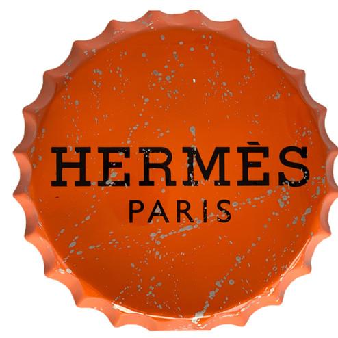 PARIS LOVES ORANGE CAP II - large bottle