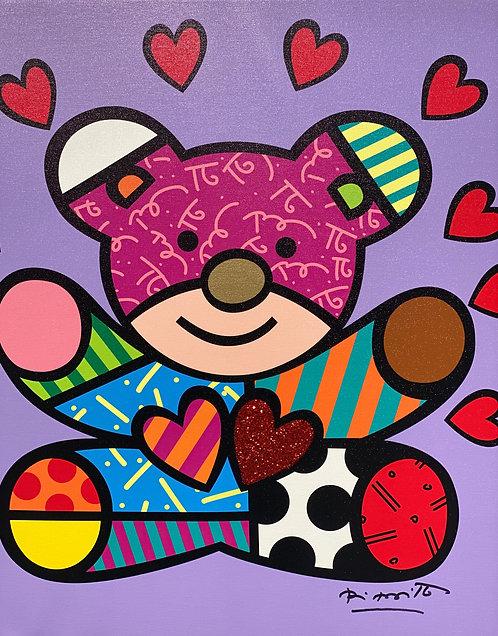 HAPPY GIRL - Romero Britto
