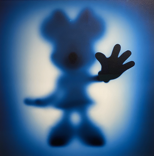 gone MINNIE IN BLUE - by whatshisname
