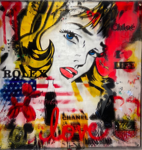 POPART LOVE - by Paul Thierry