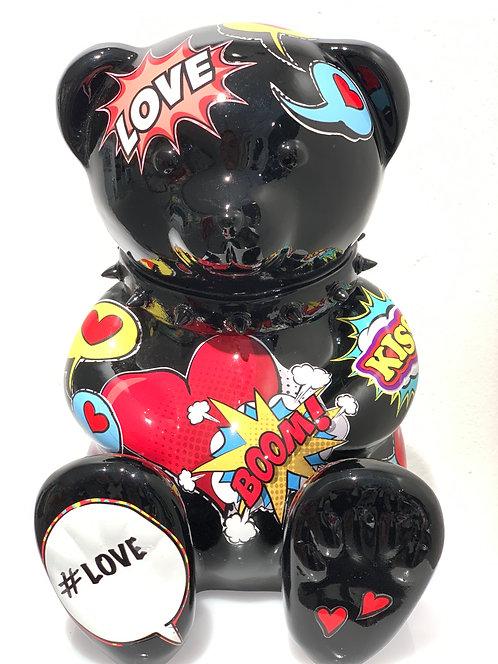 """SPIKY TEDDY """"LOVE-POP"""" - by nWL"""