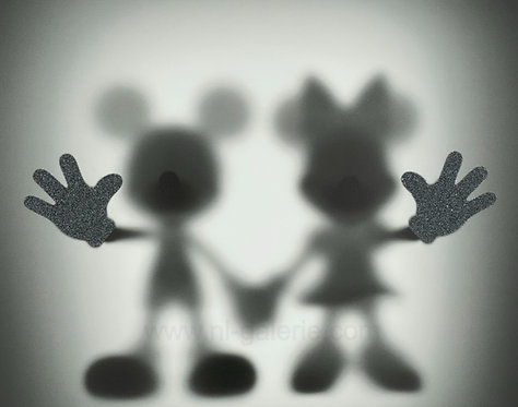 GONE MICKEY AND MINNIE  *diamonds dust edition*  - by whatshisname