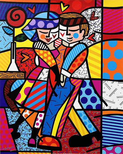 NEW CHEEK TO CHEEK - Romero Britto