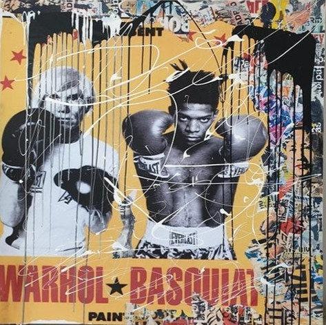 FIGHT Warhol & Basquiat - Thierry Auger