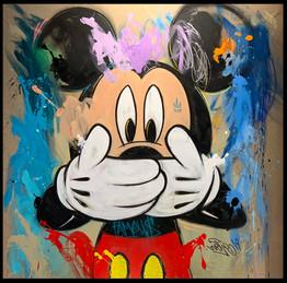 "MICKEY FAMOUS ""BE QUIET"" - Mr. Oreke - O"