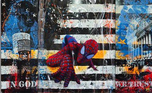 SPIDERMAN II - UNIKAT - by Devin Miles