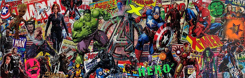 MARVEL HEROES - by TED
