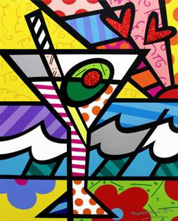 MARTINI - Romero Britto