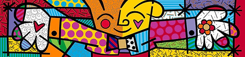 THE HUG - by Romero Britto