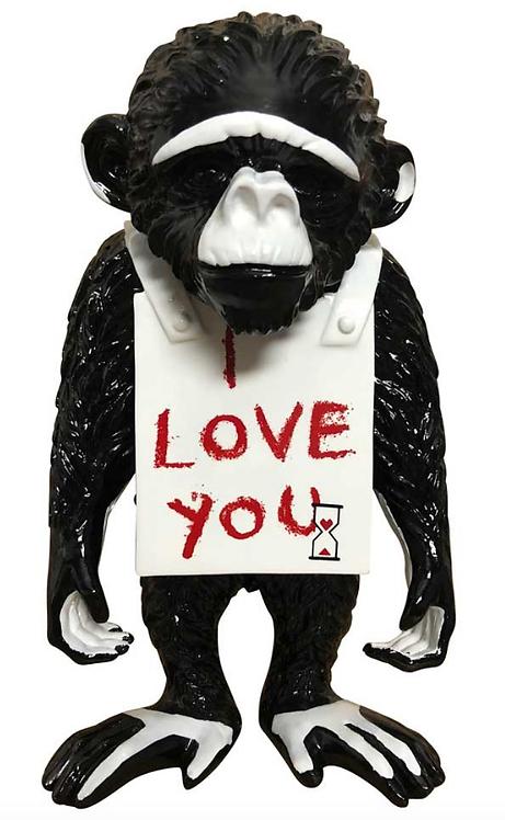 I LOVE YOU - the street monkey