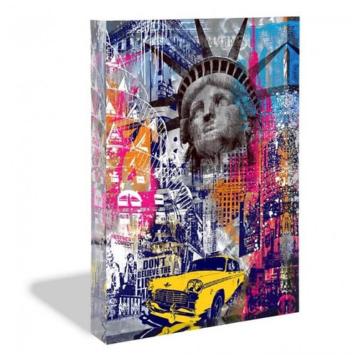 NEW YORK - Glas-Acryl-Block - limited  - by Devin Miles